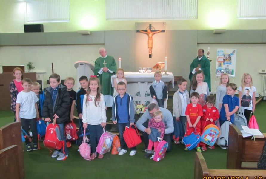 Mary's Meals Collection St Aidan's 2014